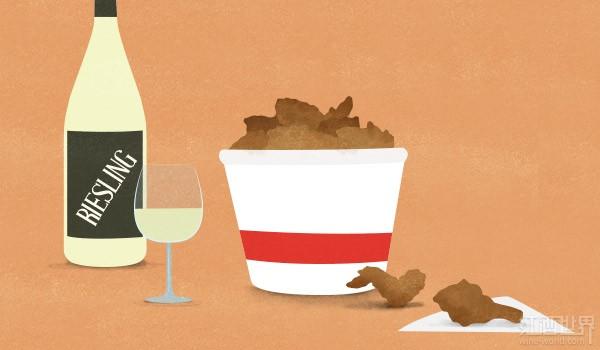 葡萄酒的食物搭配